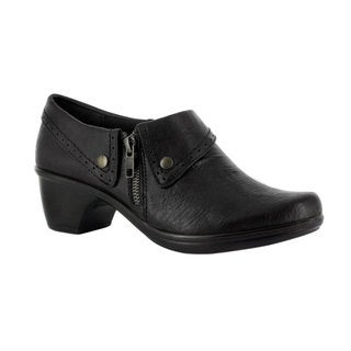 Easy Street Women's Darcy Side Zip Shootie (Black)