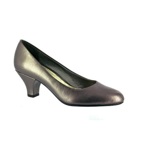 Easy Street Womens Fabulous Pump (Pewter)