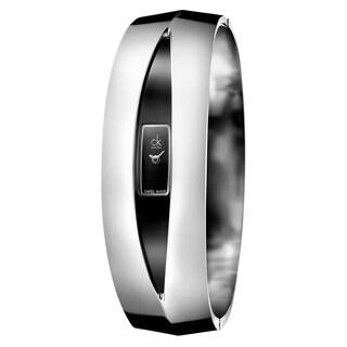 Calvin Klein Women's Astonish Stainless Steel Black Swiss Quartz (Battery-Powered) Watch
