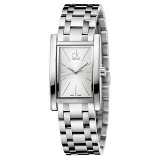 Calvin Klein Women's Refine Stainless Steel Silver Swiss Quartz (Battery-Powered) Watch