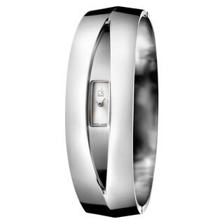 Calvin Klein Women's Astonish Stainless Steel Silver Swiss Quartz (Battery-Powered) Watch