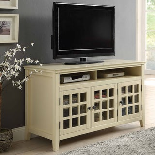 Lola Pale Yellow Media Cabinet