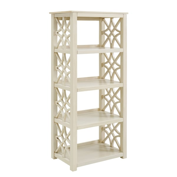 Willow Antique White Bookcase - Willow Antique White Bookcase - Free Shipping Today - Overstock
