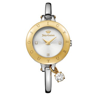 Juicy Couture Women's Melrose Stainless Steel Silver Japanese Quartz (Battery-Powered) Watch