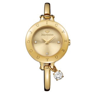Juicy Couture Women's Melrose Stainless Steel Yellow Gold Ion Plated Gold Japanese Quartz (Battery-Powered) Watch