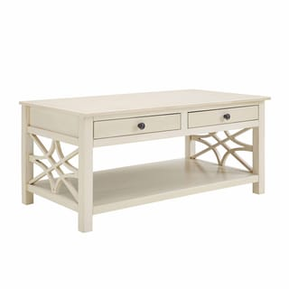 Willow Antique White Coffee Table