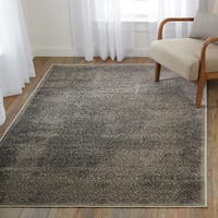 "Vintage Collection Illusion Beige and Gray Rug (5' x 7'6"")"