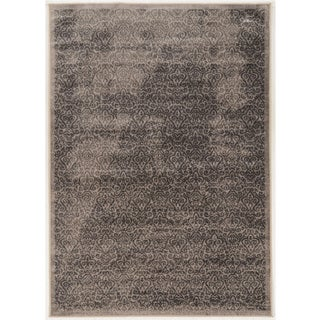 Vintage Collection Illlusion Beige and Grey Rug (9' x 12')
