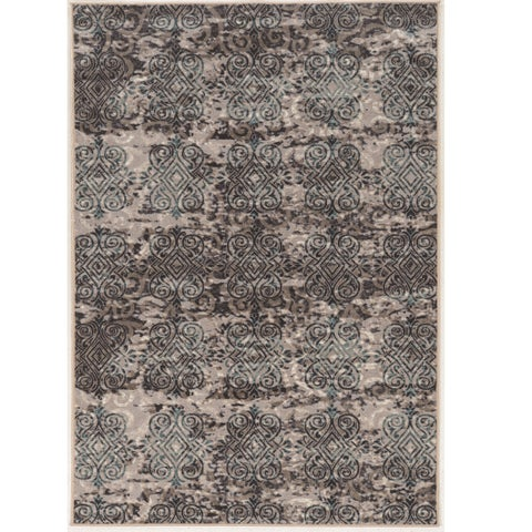 Vintage Collection Clara Grey and Beige Rug