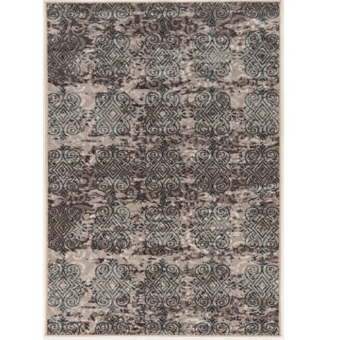 Vintage Collection Clara Beige and Grey Rug