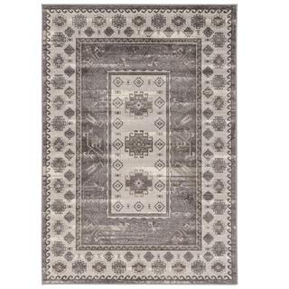 Vintage Collection Buharra Grey Rug (2' X 3')