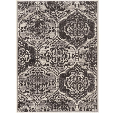 Vintage Collection Arthur Trellis Grey Rug