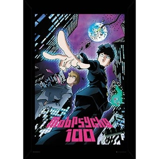 Mob Psycho 100 City Poster With Choice of Frame (24x36)