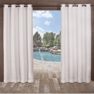 ATI Home Delano Indoor/Outdoor Curtain Panel Pair with Grommet Top (More options available)
