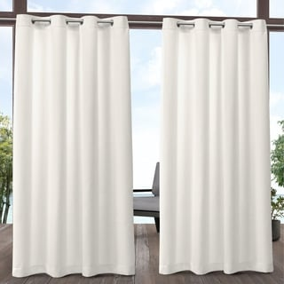 Link to ATI Home Biscayne Indoor/Outdoor Grommet Top Curtain Panel Pair (As Is Item) Similar Items in As Is