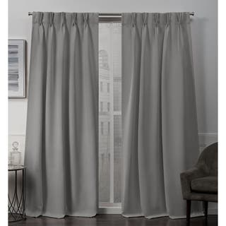 Buy Grey 96 Inches Curtains Drapes Online At Overstock Our Best
