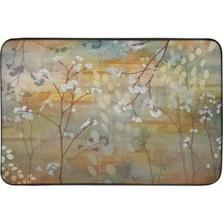 Designer Chef Series Misty Woods Oversized Anti-fatigue Kitchen Mats (2' x 3') - multi