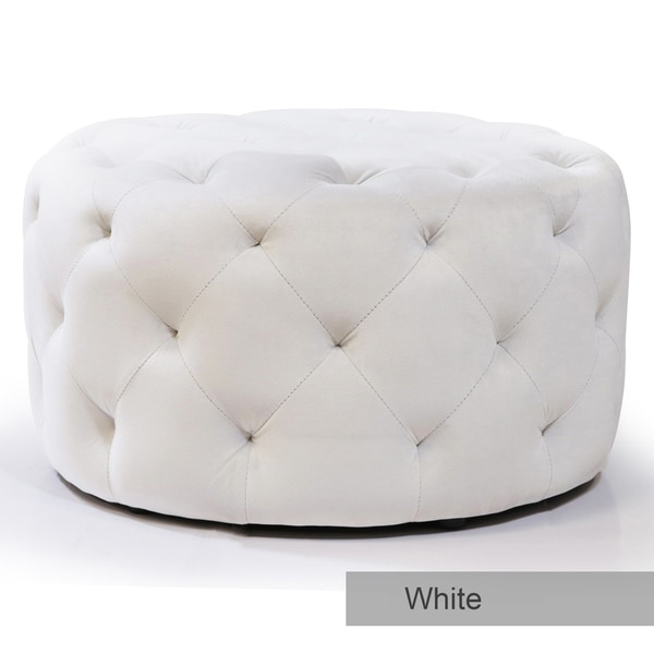 Tremendous Buy White Tufted Ottomans Storage Ottomans Online At Creativecarmelina Interior Chair Design Creativecarmelinacom