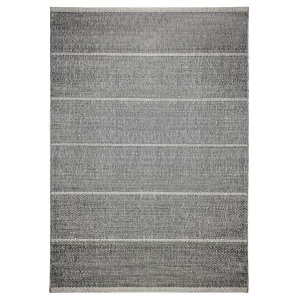 Alfresco Stripe Dark Grey Indoor/ Outdoor Rug (5\'3 x 7\'6) - Free ...