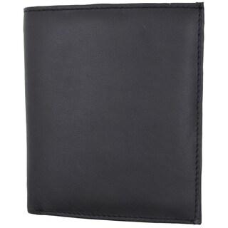 Swiss marshal RFID Premium Lambskin Leather Blocking Bifold Hipster Credit Card Wallet