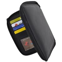 Swiss Marshal RFID Blocking Men's Premium Soft Leather Zippered ID Wallet