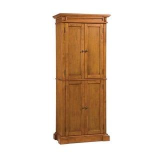 Home Styles Americana Pantry Distressed Oak Finish
