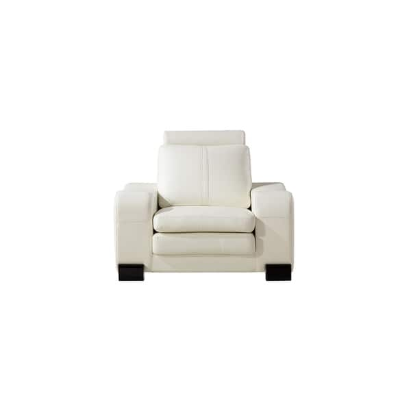 Phenomenal Shop American Eagle Ivory Bonded Leather Living Room Chair Dailytribune Chair Design For Home Dailytribuneorg