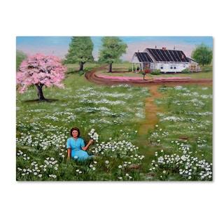 Arie Reinhardt Taylor 'Goldie' Canvas Art