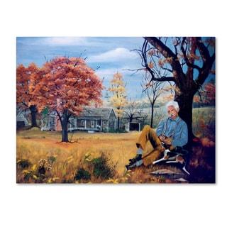 Arie Reinhardt Taylor 'Grandpa' Canvas Art