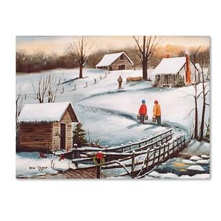 Arie Reinhardt Taylor 'The Old Springhouse' Canvas Art