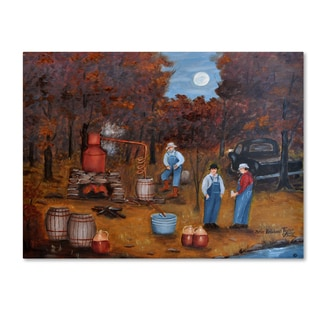 Arie Reinhardt Taylor 'The Moonshiners 10' Canvas Art