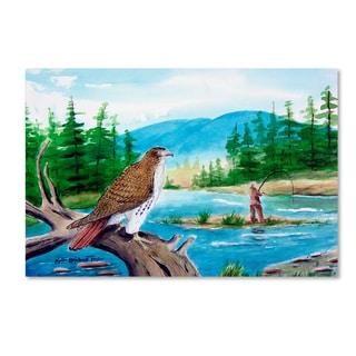 Arie Reinhardt Taylor 'Fishing' Canvas Art