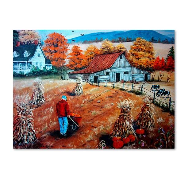 Shop Arie Reinhardt Taylor Down On The Farm Canvas Art
