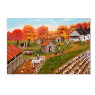 Arie Reinhardt Taylor 'The Old Homeplace' Canvas Art