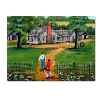 Arie Reinhardt Taylor 'Going To Grandpas' Canvas Art