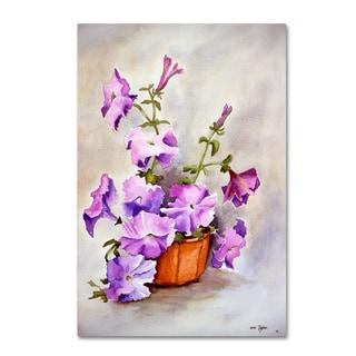 Arie Reinhardt Taylor 'Petunia' Canvas Art