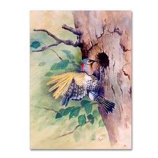 Arie Reinhardt Taylor 'Woodpecker' Canvas Art