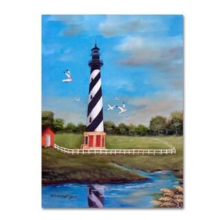 Arie Reinhardt Taylor 'Cape Hatteras' Canvas Art