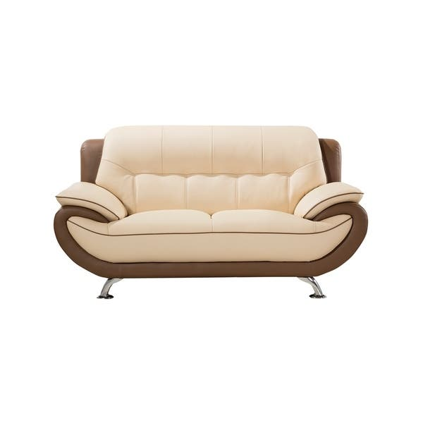Pleasant Shop American Eagle Modern Style Cream And Taupe Genuine Ibusinesslaw Wood Chair Design Ideas Ibusinesslaworg