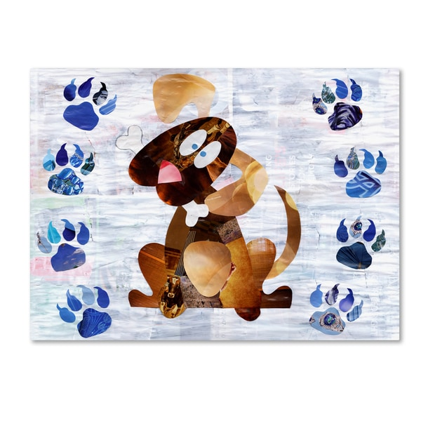 Artpoptart 'Puppy' Canvas Art