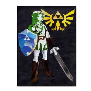Artpoptart 'Zelda 2' Canvas Art