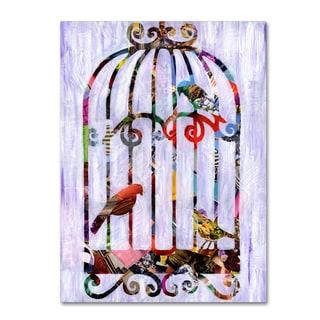 Artpoptart 'Bird Cage' Canvas Art