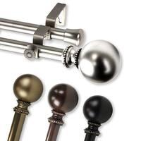 InStyleDesign Tegan Adjustable Double Curtain Rod