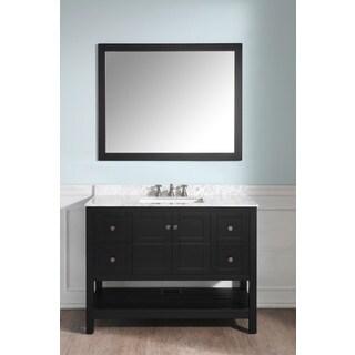 ANZZI Montaigne 48 in. Espresso Single Sink Vanity Set