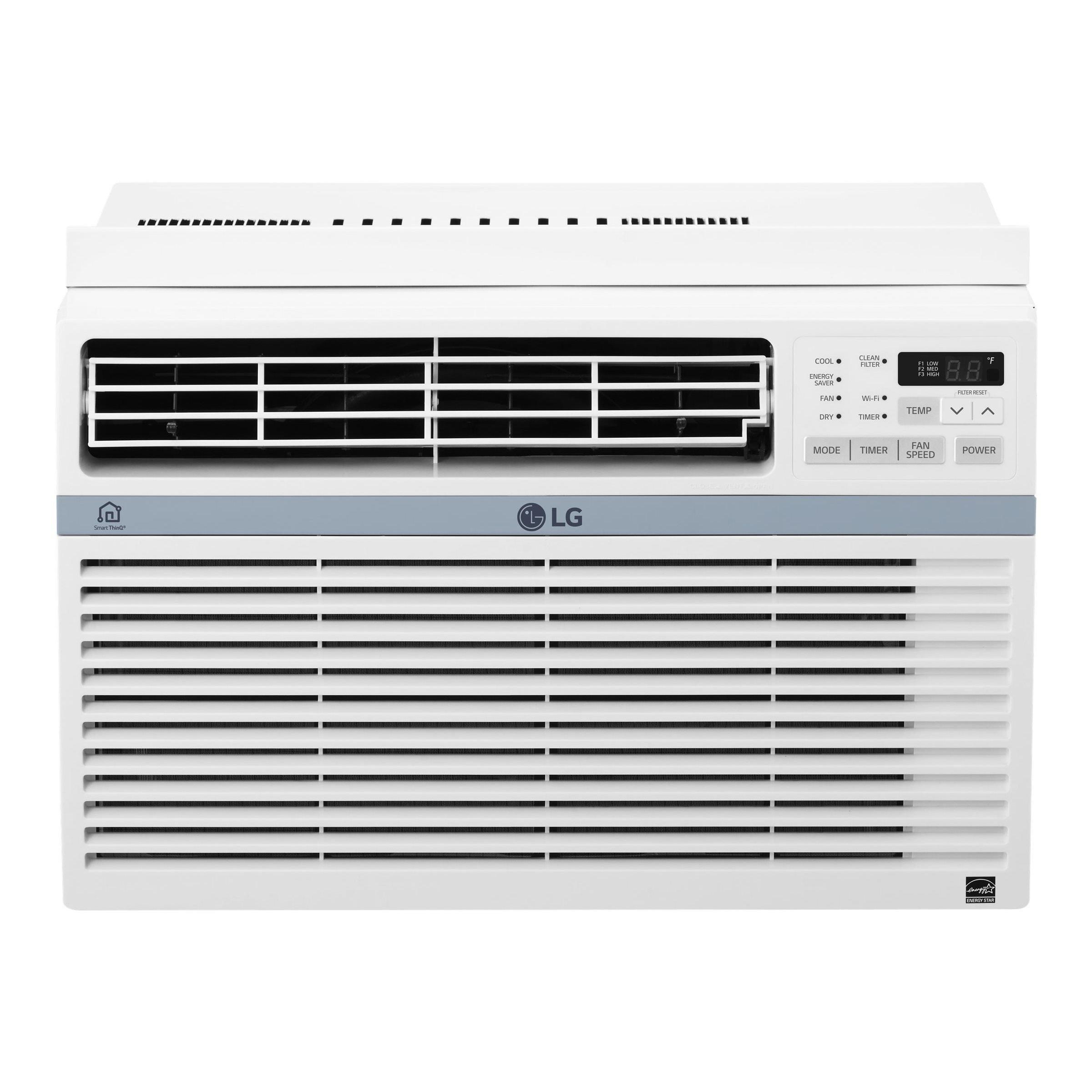 LG LW1017ERSM 115 V Window Mounted 10000 BTU Air Conditio...