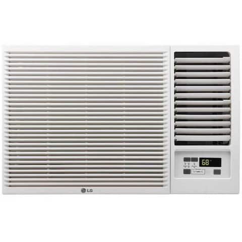 LW8016HR (Refurbished) LG 8,000 BTU Window Air Conditioner with Heat - White