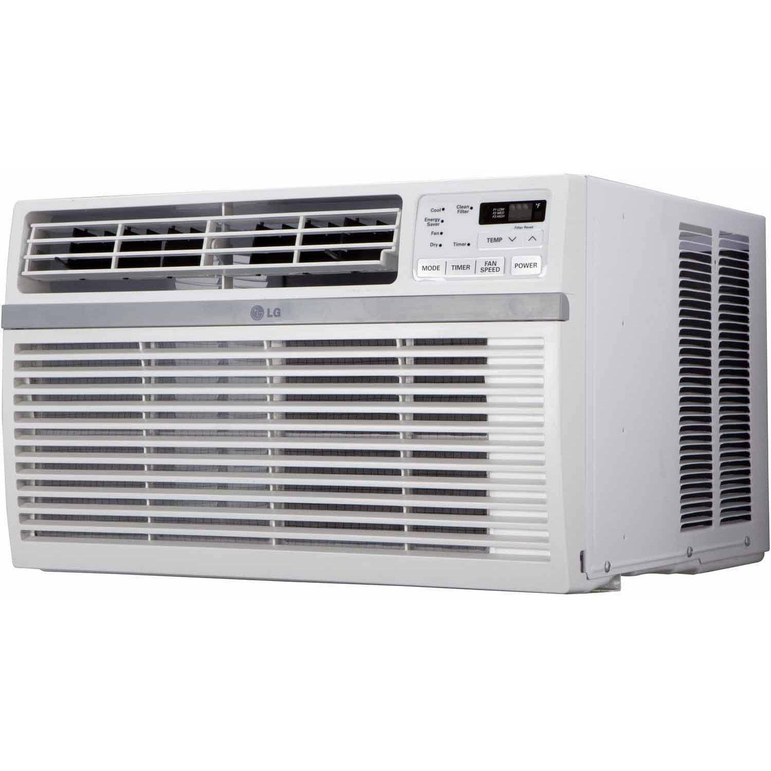 LG 6,000 BTU 115V Window-Mounted AIR Conditioner with Rem...