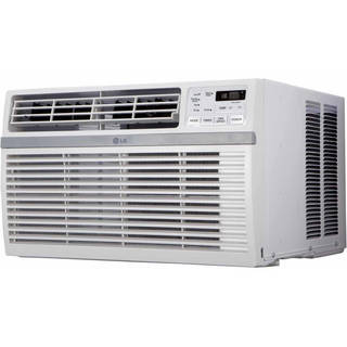 LG LW6016R 6,000 BTU Window Air Conditioner (Refurbished) - White