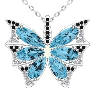 Turquoise Butterfly Wings necklace