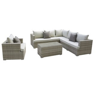 Pangea Home Oasis 5 Piece Sectional Set